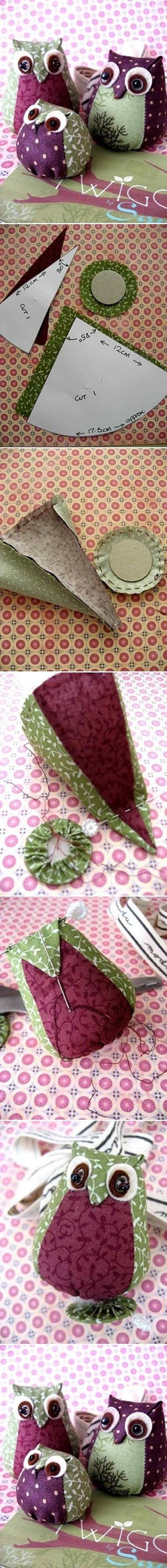 DIY_Easy_Fabric_Owl